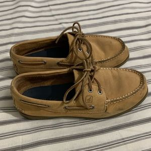 Men's Brown Sperry Boat Shoes